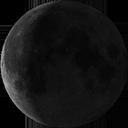 Спадаючий серп Місяця