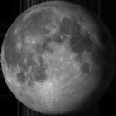 Спадаючий опуклий Місяць
